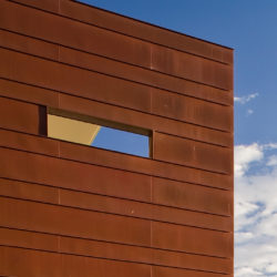 Standing Seam Panel - Copper residential