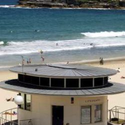 Life Guard Tower, Bondi Beach, Sydney