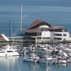 Hamilton Island Yacht Club, Qld - Copper Commercial