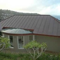Copper Residential - Double lock standing seam
