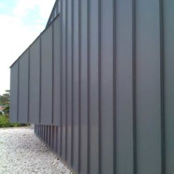 Zinc Residential - Single lock standing seam