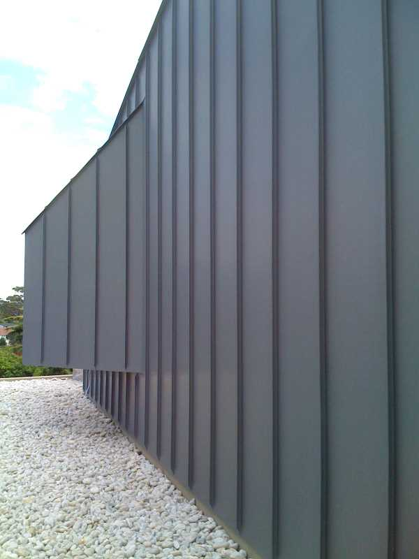 Single Lock Standing Seam Panel Metalclad