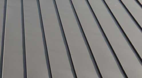 Snap Lock Seam Panel Metalclad