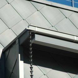 Zinc Residential - Flat Lock Seam