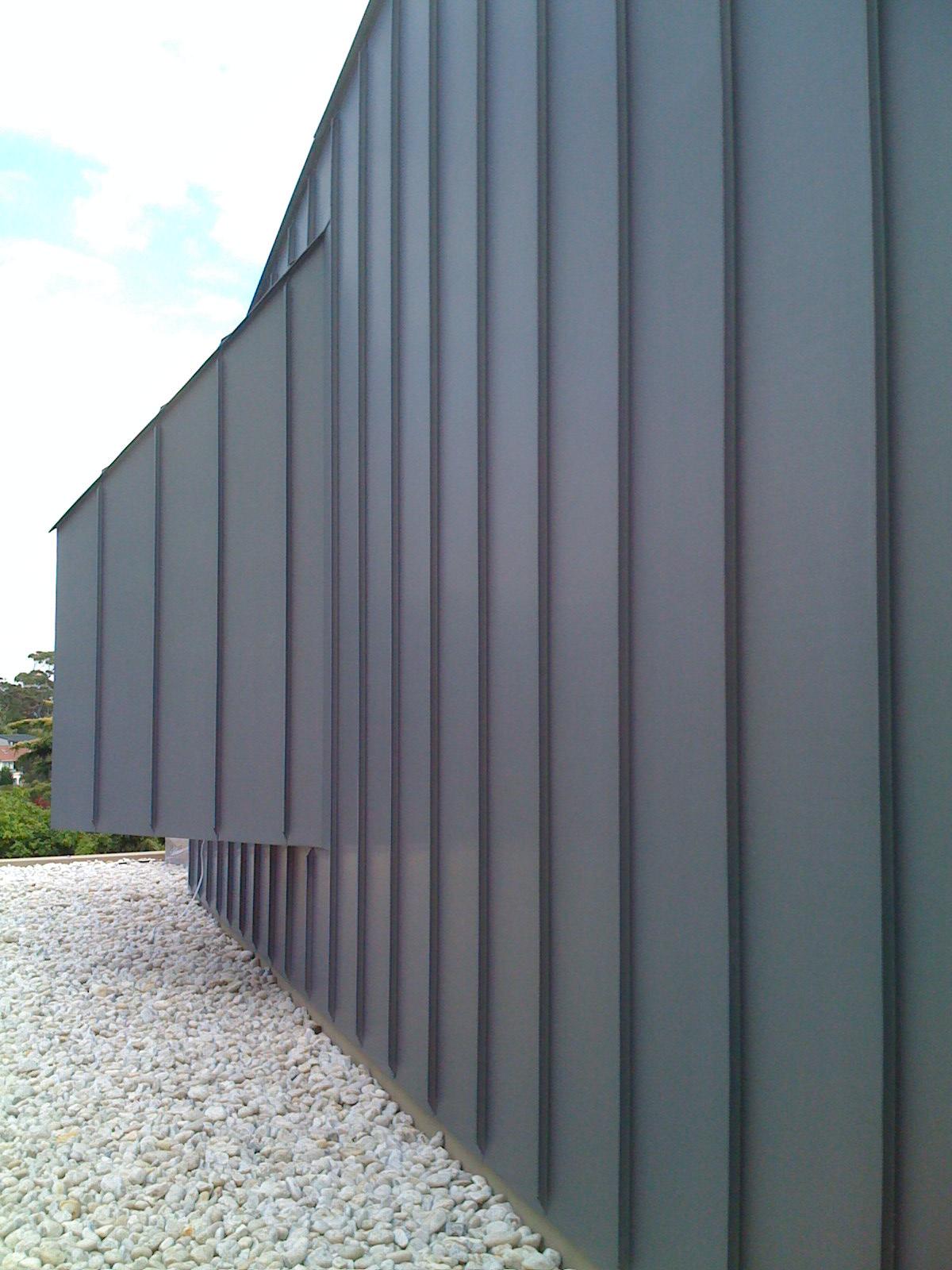 Single Lock Standing Seam Panel Metalclad
