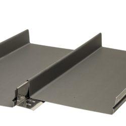 Snap lock seam panel